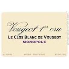 VOUGERAIE, VOUGEOT CLOS BLANC 2012 75cl