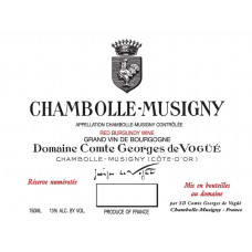 COMTE GEORGES DE VOGUE, CHAMBOLLE MUSIGNY 2008 - mg 75cl