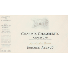 ARLAUD, CHAMBOLLE MUSIGNY, SENTIERS 2014 75cl