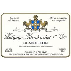 LEFLAIVE, PULIGNY MONTRACHET, 1er CLAVOILLON 2005 75cl